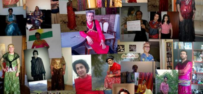 Collage of images submitted by campaign supporters
