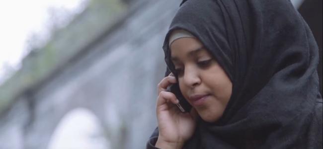 Muslim Women's Network UK - Woman on Phone