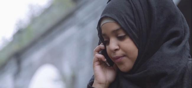 Muslim Women's Network UK - Woman on Phone