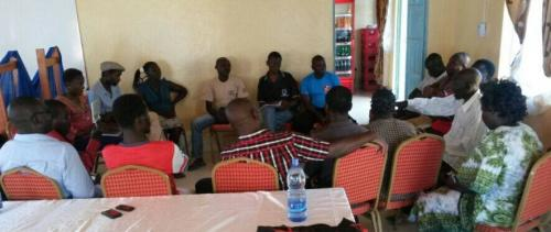 Climate Change community dialogues in Mfangano Island