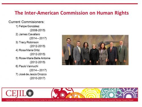 IACHR Composition