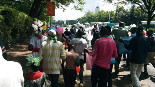Peoples Protest March-COP 21, Nairobi