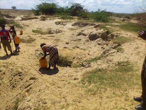 Water Scarcity due to climate change-Marereni, Malindi