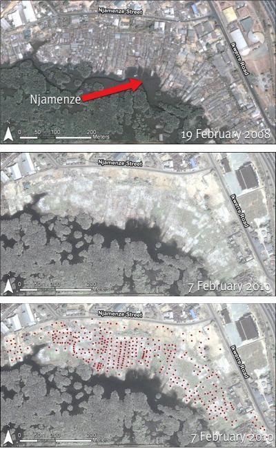 Demolition of Njamenze